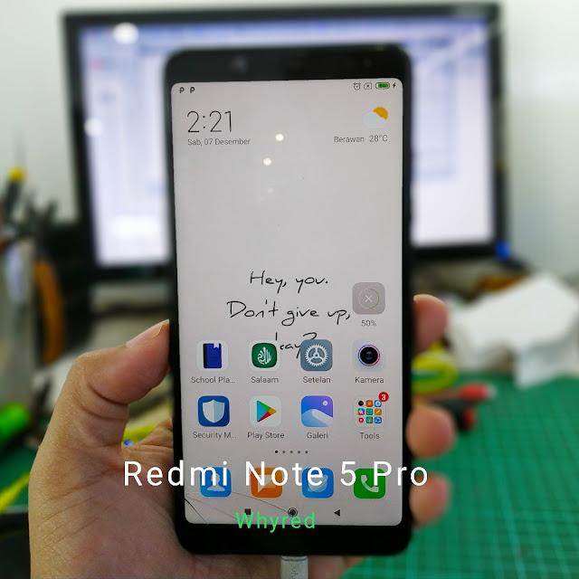 Redmi Note 5 Pro (whyred)
