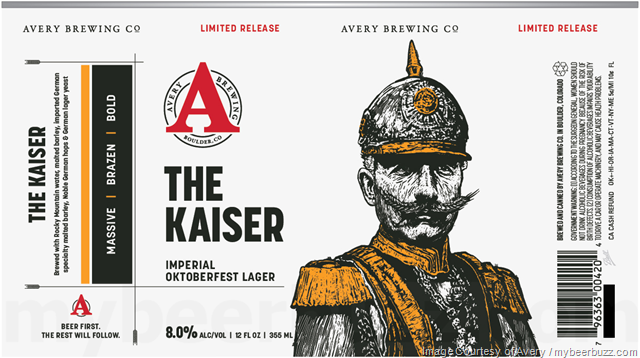 Avery - The Kaiser Imperial Oktoberfest Coming To New Cans