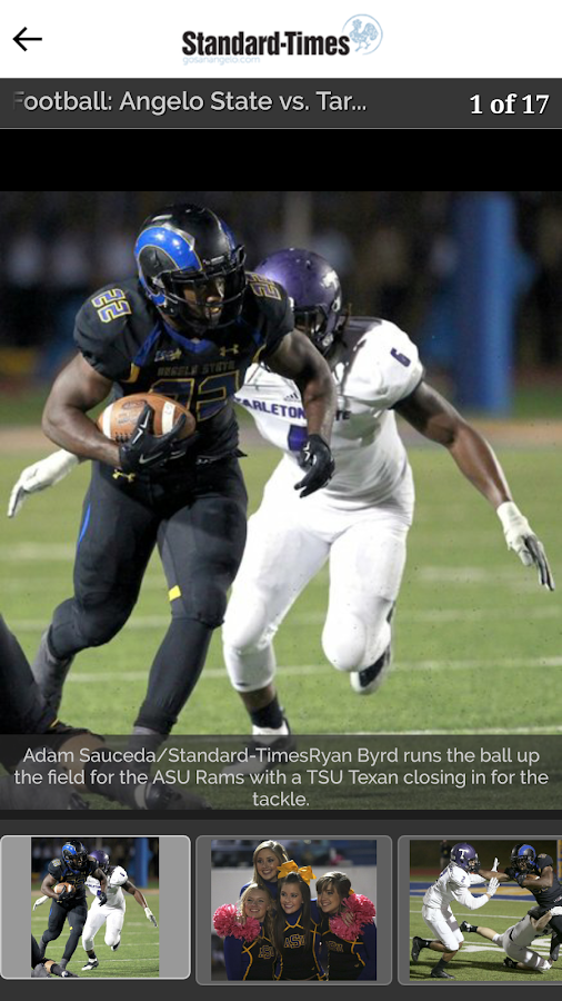 San Angelo Standard-Times- screenshot