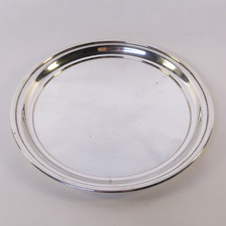 Cartier Sterling Silver Round Tray