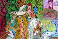 new stady Gustave Moreau-The Unicorns
