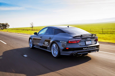 Audi A7 Piloted Driving Concept Drives Silicon Valley to Las Vegas Drive 18
