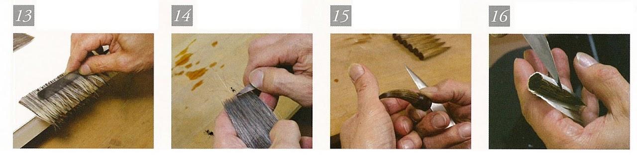 japán ecset készítése 13-16