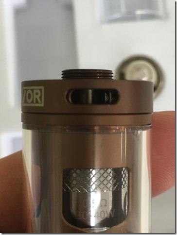 IMG 8818 thumb1 - 【オシャレ系ビルトイン型スターターキット】DIGIFLAVOR Wild Fire Kit(デジフレーバー・ワイルドファイアキット)【レビュー】~カッコイイんだけどもうちょっと容量があったらな~(o'3'o)編~