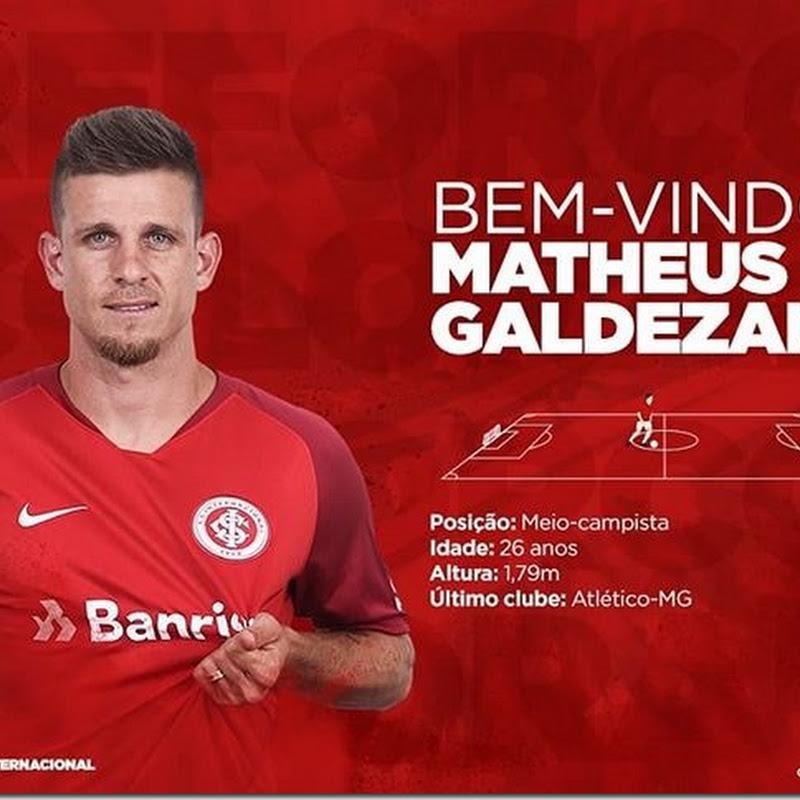 Internacional contrata Matheus Galdezani