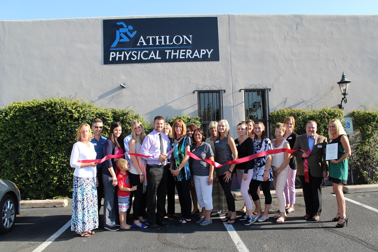 Congratulations Athlon Physical Therapy, located at 2560 E. Fort Lowell Road!