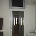 Ensuite TV Above Doorway.JPG