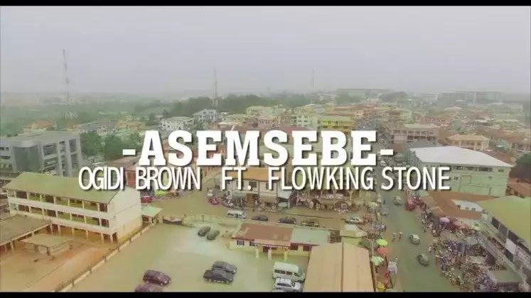 Download Song: Ogidi Brown – Asemsebe feat. FlowKing Stone (Produced by TubhaniMuzik). Mp3