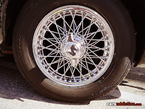 Wire wheels very common with classic cars