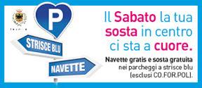 Il sabato approfitta di Navette e Sosta gratuita