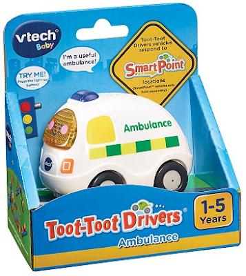 Hình ảnh hộp sản phẩm Xe cứu thương phát nhạc Vtech
