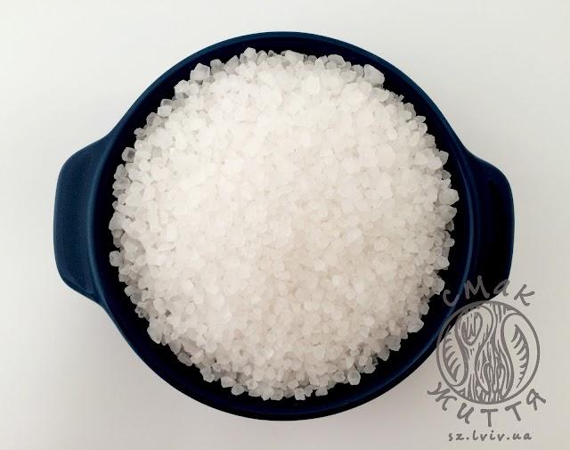 Сіль морська, крупна (1кг)
