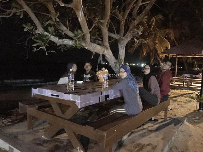 waktu malam di pulau tioman