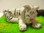 Snow Tiger by Dario