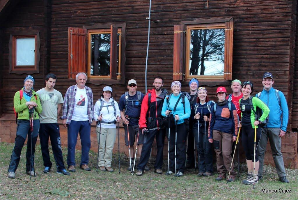 Pred njim pa slovenska zasedba z bosanskimi gosti