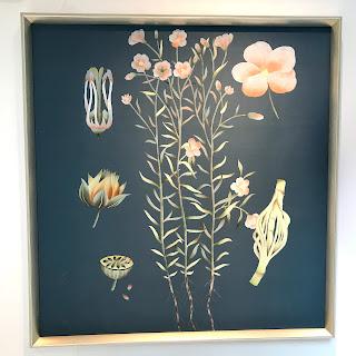 Floral Study on Silk #1