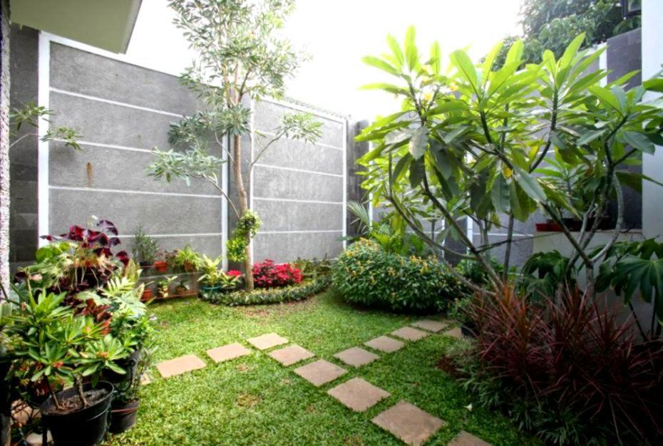 foto taman belakang rumah gallery taman minimalis