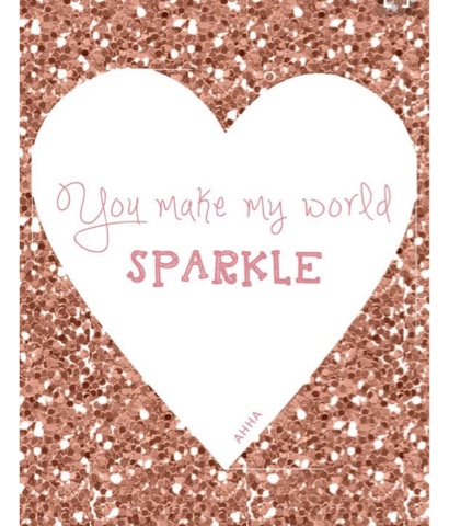 The sparkle will live on: Short and Sweet Sparkly Quotes
