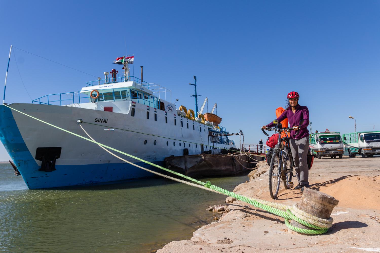 cycling the sahara desert sudan ferry aswan