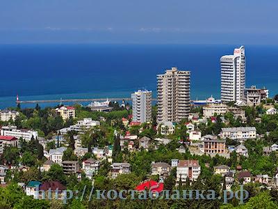 apartamentos en Sochi, апартаменты в Сочи, КостаБланкаРФ