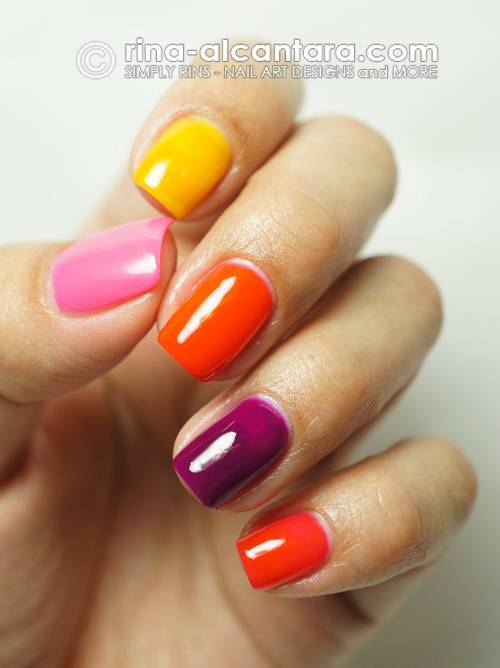 Deborah Lippmann Run the World (Girls) Neon Set