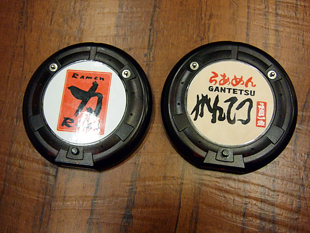 Pagers from Ramen Champion