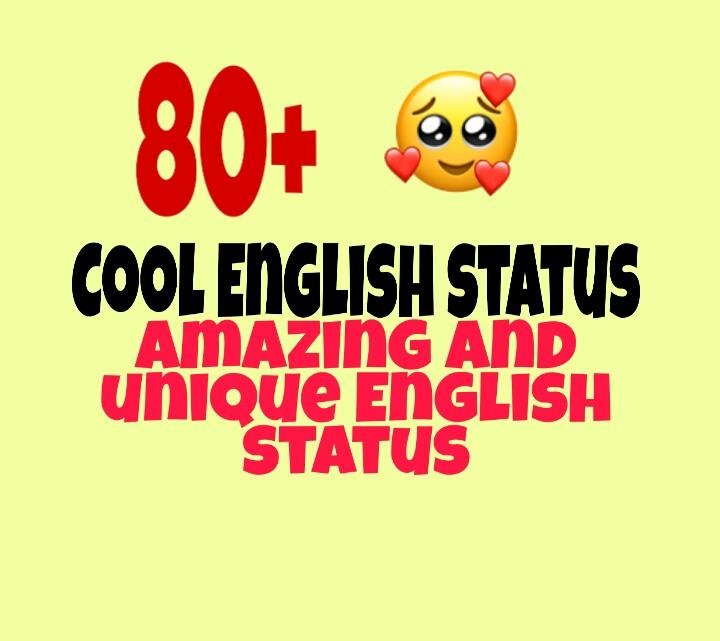 Short Cool Whatsapp Status in English