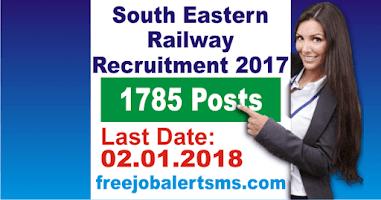 South Eastern Railway Kolkata Apprentice Recruitment 2017