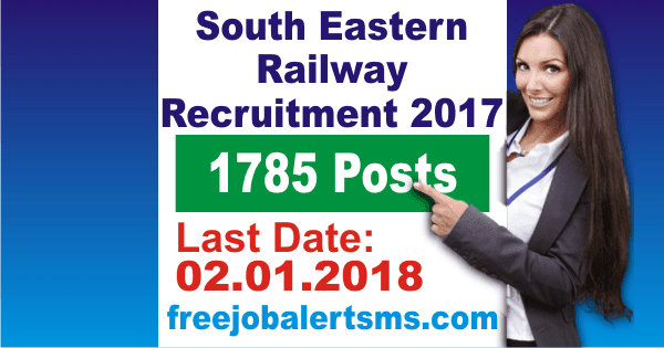 South Eastern Railway Kolkata Apprentice Recruitment 2017
