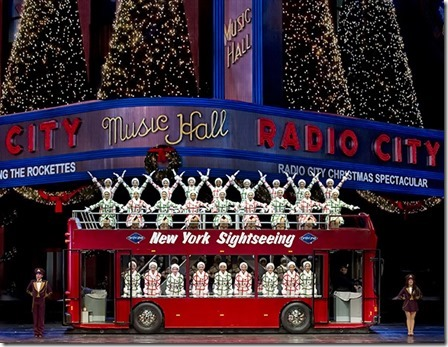 "The Rockettes in ""New York at Christmas"" in the Radio City Christmas Spectacular"