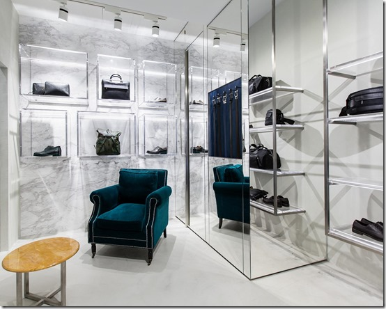 a.testoni - Boutique Uomo Roma - Interno