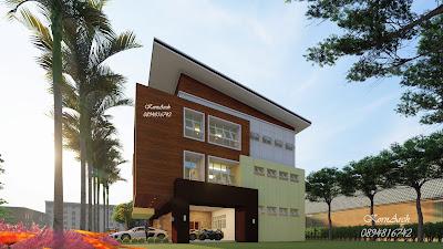 สำนักงานสูง 3 ชั้น  เจ้าของอาคาร MITR Environment Co.,Ltd. สถานที่ก่อสร้าง ซ.รามอินทรา8 เขตบางเขน กทม.