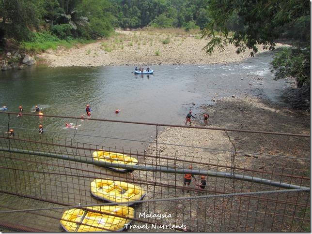 馬來西亞沙巴 九如河泛舟 溜索 (26)