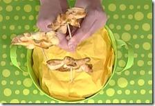 Girandole di sfoglia al pomodoro e basilico