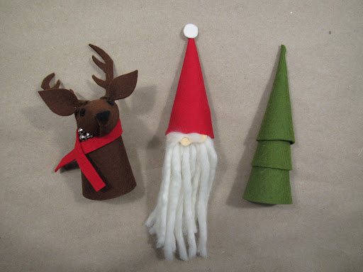 ...and a collection of adorable felt wine toppers!!