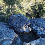 Rock stack at the end of Willunga track (156496)