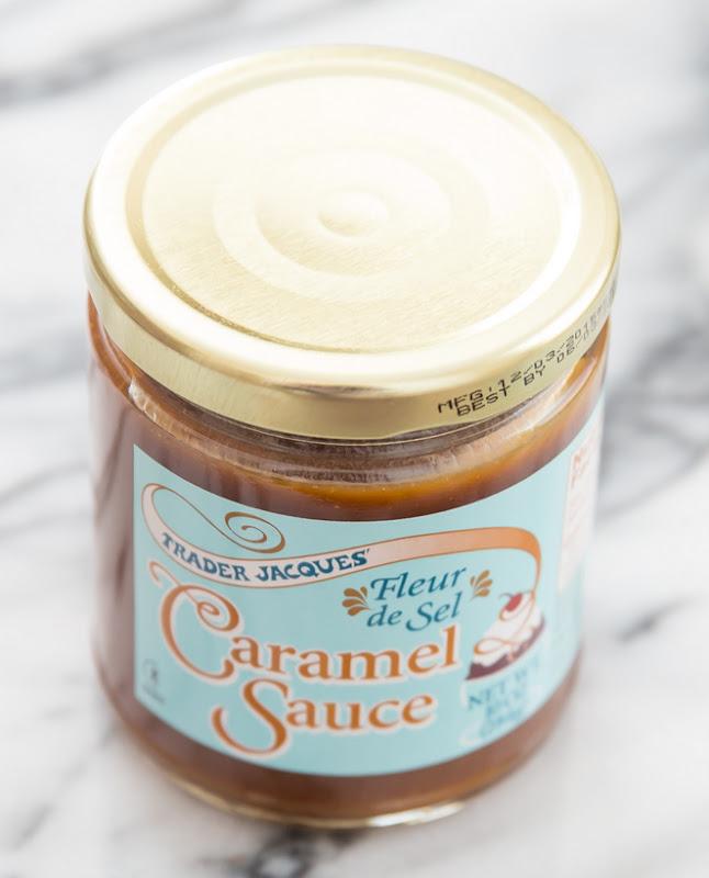 photo of a jar of caramel sauce