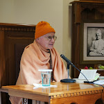 Swami Vedananda leads retreat on December 7