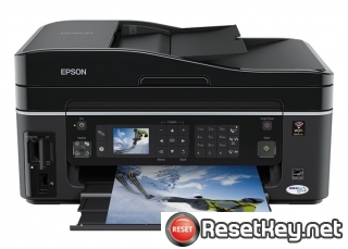 Reset Epson SX610FW End of Service Life Error message