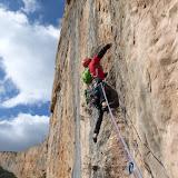 Fotos da Directa Osborne, na parede de Cienfuens (Sierra de Guara, Huesca)