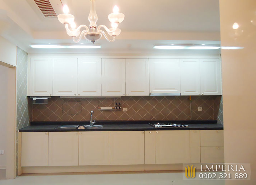 nội thất cao cấp dính tường căn hộ cho thuê Imperia