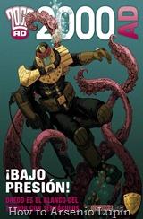 Actualización 24/04/2017: Y entonces fueron 7... Gracias a la séptuple alianza de HTAL, CRG, Outsiders, Prix, LLSW, Gisicom y con la resiente adición de la gente de AT-Comics, conocida como The Drokkin Project, les traemos Juez Dredd - Tomo 56 - Carroñeros (2000AD 1842-44) tradumaquetado por la gente de AT-Comics. Vuelve el personaje favorito de todos (excepto del mismo Dredd) Aunque mas que volver, aquí continua, el personaje Sensible Klegg protagoniza varios tomos (25 y 28 para ser exactos) pero su origen aun se esta por contar...