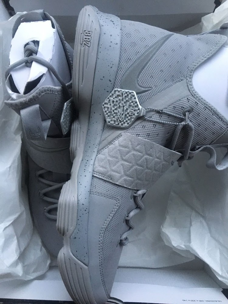 new concept 71cc3 a783b 3M Covered Grey-out Nike LeBron 14 Joins Outlet Exclusive ...