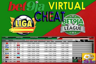 Bet9ja Virtual Cheat 2020
