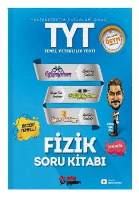 Metin Yayınları - TYT Fizik - Soru Bankası