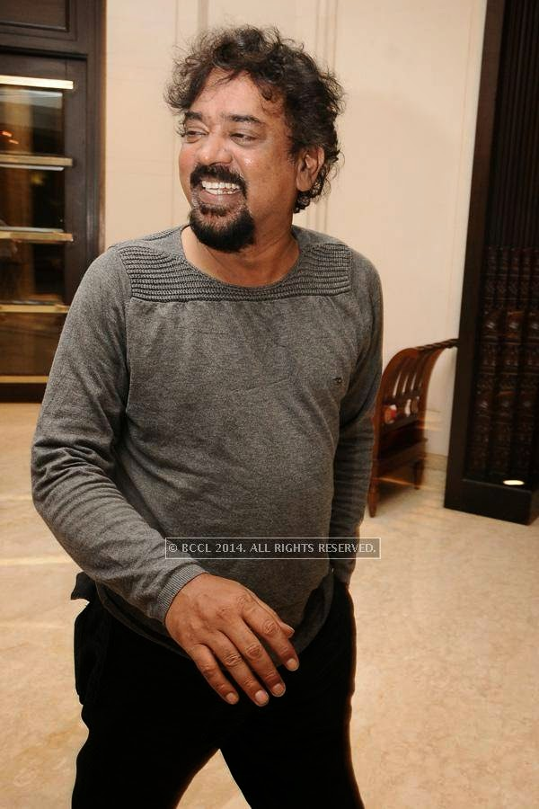 Santosh Sivan during the birthday celebration, held at The Leela Palace, in Chennai.
