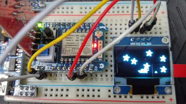 มาเล่น ESP8266 กับจอ OLED 128×64 ด้วย Arduino ESP กัน « Thai