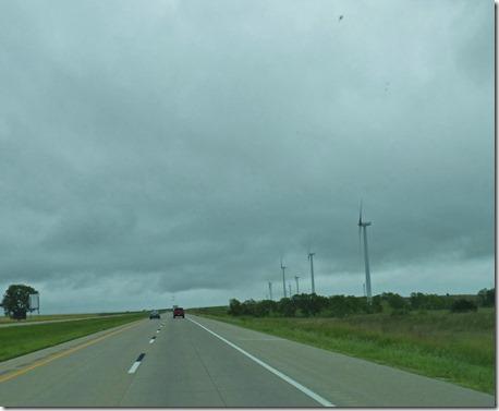I-70  in Central Kansas