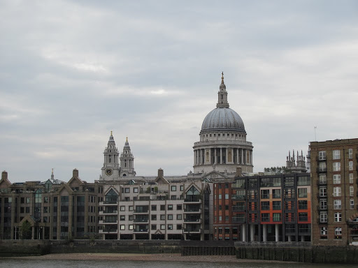 St Paul's Cathedral from the south bank
