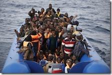 Sbarchi migranti in calo del 80,10%